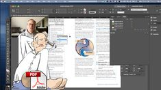 Can I edit a PDF in InDesign? How to edit PDFs in InDesign: --- #InDesign #PDFeditor #graphicdesign --- Desktop Publishing, Adobe Indesign, I Can, Pdf, Layout, Graphic Design, Watch, Youtube, Clock