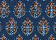 Chateau - inspired, couture decor - Provincial by Joel Dewberry's Botanique Collection to create your sewing and quilting patterns and projects
