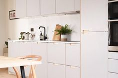It's surprisingly easy to transform standard IKEA kitchen cabinets with customised doors and drawer fronts. Here are six of the best companies to help. Ikea Kitchen Design, Ikea Kitchen Cabinets, Kitchen Doors, Kitchen Cabinet Design, Kitchen Sets, Modern Kitchen Design, Kitchen And Bath, Kitchen Interior, Kitchen Utensils Store