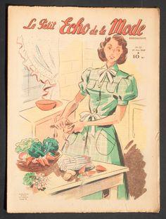 'ECHO DE LA MODE' FRENCH VINTAGE NEWSPAPER 29 MAY 1949 | eBay