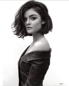 LOVE this cut but not sure I could deal with short hair that I can't put up