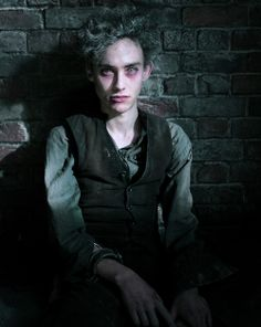 Olly Alexander in Penny Dreadful.  Poor Fenton.