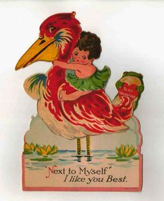 Bring on the Vintage Valentines! Vintage Valentines, Rooster, Bring It On, Animals, Animais, Animales, Animaux, Roosters, Animal