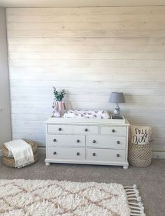 How to DIY a rustic, whitewash plank wall in any room Faux Wood Wall, Faux Brick Walls, Faux Shiplap, Tongue And Groove Walls, Brick Fireplace Makeover, Plank Walls, Ship Lap Walls, Bedroom Wall, Stud Finder