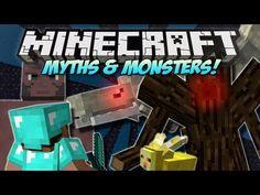 Minecraft | CREEPYPASTA! (PewDiePie, Stephano, Mothman & More!) | Mod Showcase [1.4.7] - YouTube