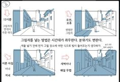 Manga Drawing Techniques Tips for Drawing Backgrounds - Thomas Romain is a terrific artist working in the anime industry in Tokyo. Previously, he showed how to draw detailed buildings. This time, we're going to learn from him how to draw backgrounds. Digital Painting Tutorials, Digital Art Tutorial, Art Tutorials, Drawing Tutorials, Perspective Drawing Lessons, Perspective Art, Comic Drawing, Manga Drawing, Drawing Artist