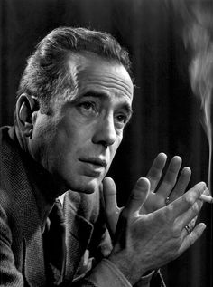 Humphrey Bogart by Yousuf Karsh