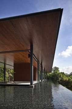 The Water Cooled House Design in Singapore #architecture ☮k☮