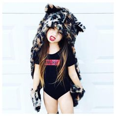 """Little Wonderland Clothing on Instagram: """"Are we ready to ROAR?! Haven is!  Talk about a girl with mad style... Our bombshell Leo + love her animal hood @spirithoods  I am super stoked both girls @providence_and_haven came to ROCK on our team!! Enjoy this little wild thang!!!  #fab #fashion #fashionista #kidsfashion #girl #prettygrunge #tutu #hipkidfashion #trendy #style #igkiddies #stylish #stylishkids #rad #grunge #bombshell #ootd #alternative #love #90s #model #epic"""