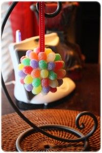 Kiddie craft - possibly the only good use for spice drops.
