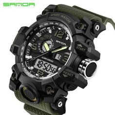 473cdc529229 Men s Military Sport Watch Men Top Brand Digital Wrist Watch