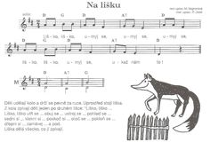 PH na lišku Kids Songs, Forest Animals, Ph, Kindergarten, Music, Sports, Musica, Hs Sports, Children Songs