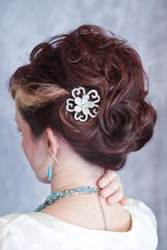 Magnificent I Created This Style Its A French Twist With The Curls Pinned Up Hairstyles For Women Draintrainus