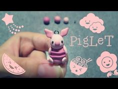 ♥ Polymer Clay Piglet Tutorial :D