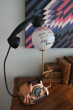 RING RING RING... Obra de Francisco Alegre
