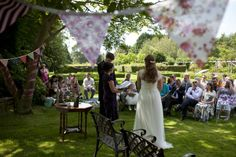 Beth and Richard's Relaxed and Sunny Humanist Wedding. By Ben Edward