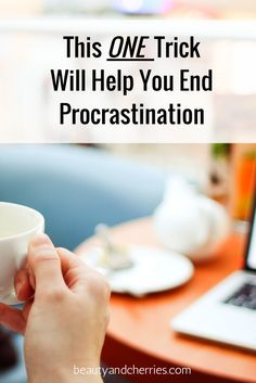Are you struggling to get things done? Do you see yourself procrastinating all the time? This one, simple and very practical trick will surely help you take action. Click through to read it now or save this for later!