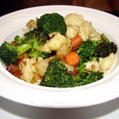 A delicious and simple vegetable side dish flavored with onion soup mix.