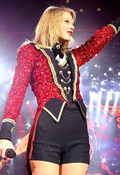 Taylor Swift. She is a country/pop singer & songwriter, and also gives to charitable causes!