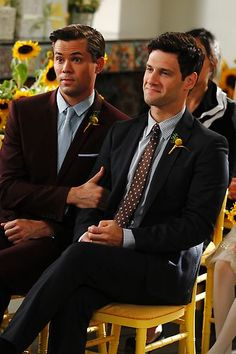 The New Normal. I loved this show., I was so sad when it got cancelled Same Love, Man In Love, Justin Bartha, The Artist Movie, Andrew Rannells, Will And Grace, The New Normal, Gay Couple, Celebs