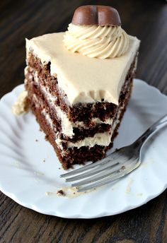 This Chocolate Peanut Butter Cake is so delicious. The icing is rich and creamy and the cake is perfectly moist. You can't get a better combination.