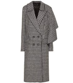 Burberry - Cappotto pied-de-poule in lana | mytheresa.com