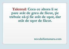 Talentul: Ceea ce altora li se pare atât de greu de făcut, ţie trebuie să-ţi fie atât de uşor, dar atât de uşor de făcut. Math Equations, Wall