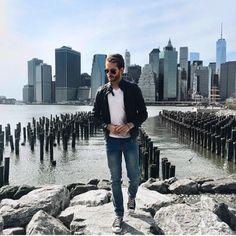 Viparo Mens leather jacket | Cheap Monday jeans | Chucks | iamgalla.com