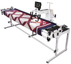 Baby Lock Crown Jewel Long Arm Quilting Machine and Pearl Frame