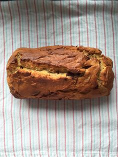 #Glutenfree banana bread with chocolate chips - made by @gemma_downing.