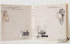 Scrap story ...: A vintage album for Scrapiniec