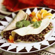 Health Mexican Recipe: Black Bean Tacos - Shape Magazine