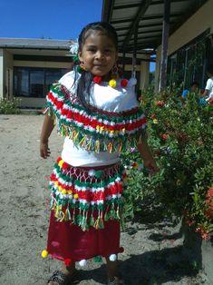 Arowak indian girl (Suriname)