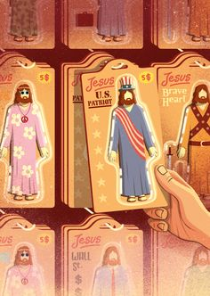 Your own, personal, utilitarian Jesus Client: Christianity Today