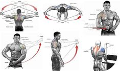 4 Cable Exercises to Build Boulder Shoulders Shoulder Workout Cable, Back And Shoulder Workout, Cable Shoulder Exercises, Cable Back Exercises, Back Cable Workout, Best Chest Workout, Chest Workouts, Fun Workouts, Workout Exercises