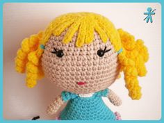 Crocheted by AmigurumisFanClub!!! Free pattern: http://amigurumibb.wordpress.com/2013/05/24/bb-dolls/