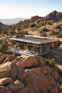 Desert container house