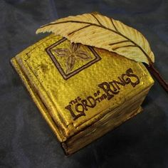 Lord of the Rings cake, plus the same post has Harry Potter book, Dr. Suess, Where the Wild Things Are, & other book-theme cakes Pen Cake, Cake Art, Hobbit Cake, Hobbit Party, Book Cakes, Cake Wrecks, Cupcake Cookies, Cupcakes, Specialty Cakes