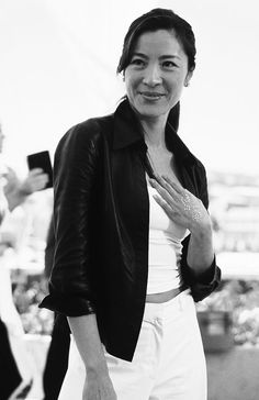 Michelle Yeoh is a Malaysian Chinese actress Michelle Yeoh, Ipoh, Asian Celebrities, Celebs, Films Étrangers, James Bond Girls, Film D'action, Female Fighter, Women Names