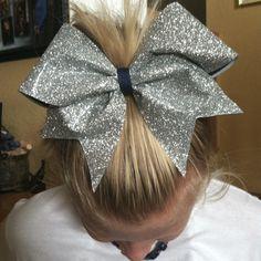 Our cheer bows :) Cheer Stunts, Cheer Coaches, Cheer Dance, Sparkly Cheer Bows, Cute Cheer Bows, Cheer Mom, Softball Bows, Cheerleader Bows, Jojo Bows