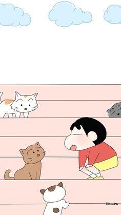 Sinchan Wallpaper, Iphone Background Wallpaper, Locked Wallpaper, Kawaii Wallpaper, Sinchan Cartoon, Cute Bunny Cartoon, Doraemon Cartoon, Cute Disney Wallpaper, Cute Cartoon Wallpapers
