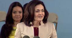 Facebook COO Sheryl Sandberg Commencement Speech | Harvard Commencement 2014  https://www.youtube.com/watch?v=ZKII4AwLKkU