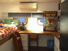 Interior design - yacht kid's bedroom