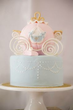 Pastel Princess + Cinderella themed birthday party with Such Cute Ideas