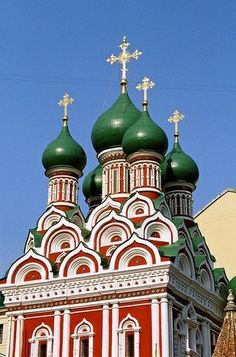 Church of the Holy Trinity, Moscow. | Most Beautiful Pages