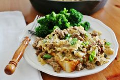 The Country Cook---Philly cheese steak pasta
