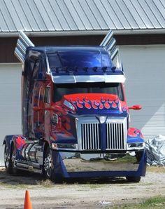 Optimus Prime cab