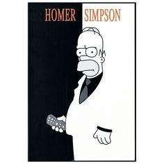 SIMPSON - Homer 32x48 cm #artprints #interior #design #art #print #cartoon  Scopri Descrizione e Prezzo http://www.artopweb.com/categorie/cartoni/EC18604