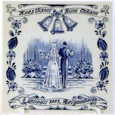 Delft Blue Wedding Plates