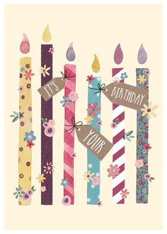 Velas de cumpleaños - It's Your Birthday